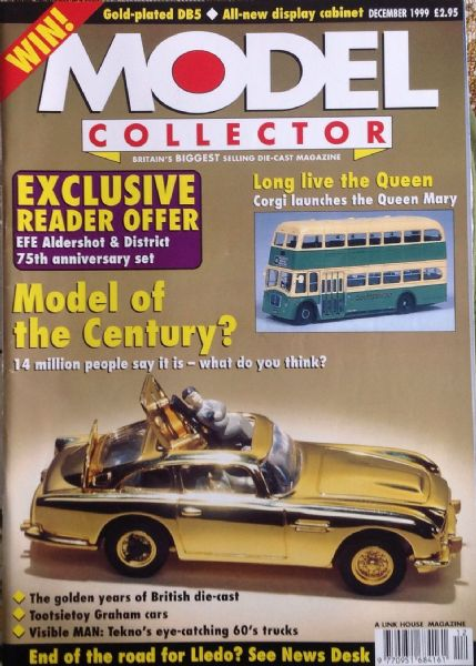 ORIGINAL MODEL COLLECTOR MAGAZINE December 1999